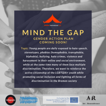 Art for the Remembrance – Mind the Gap